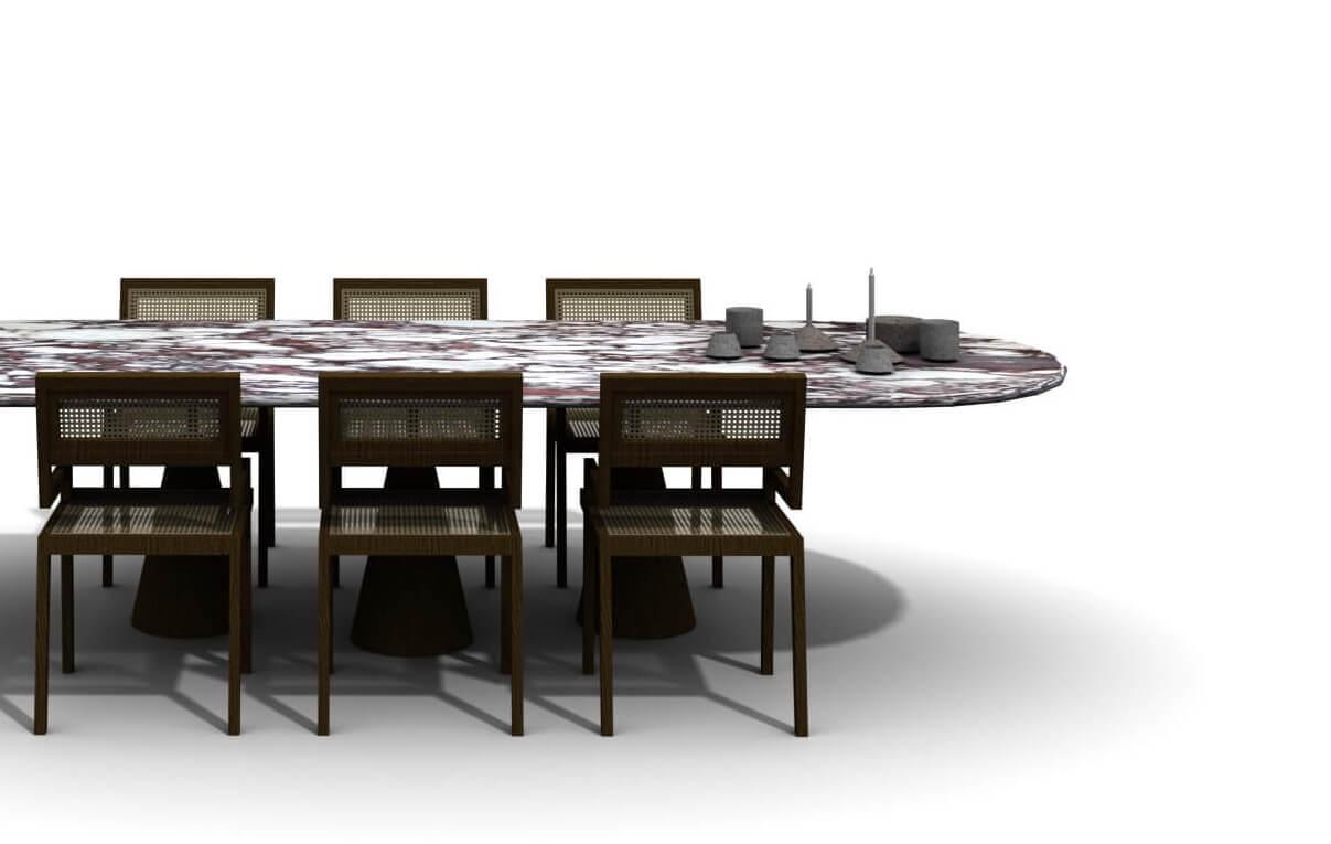 Photo d'illustration de notre table de salle à manger